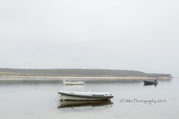 Boats In The Bay by kelogie
