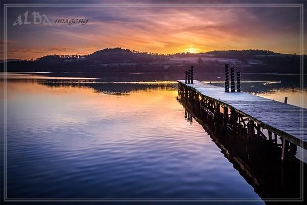 Loch Lomond Sunrise by braddy
