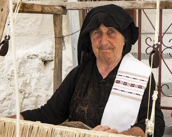 Weaver, Meganisi, Greek Ionian by iancrowson
