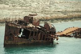 A Shipwreck!