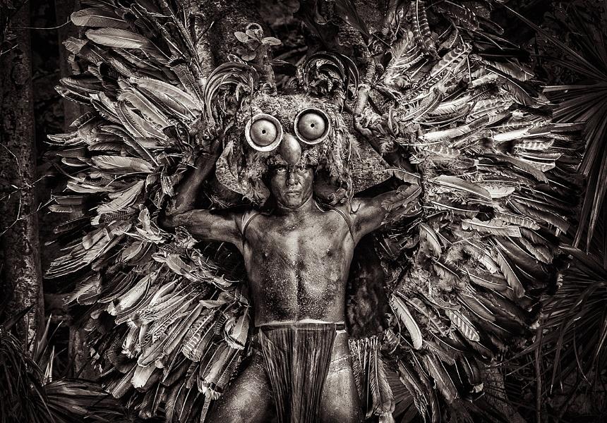 Mayan Owl God