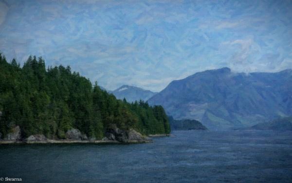 Coastal Mountains - BC by Swarnadip
