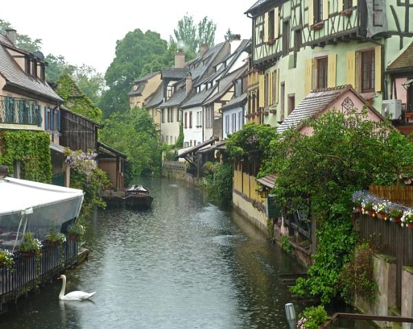 Colmar, Alsace by JuBarney