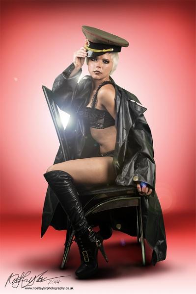 Kseniya on a Chair! by bunni_boi