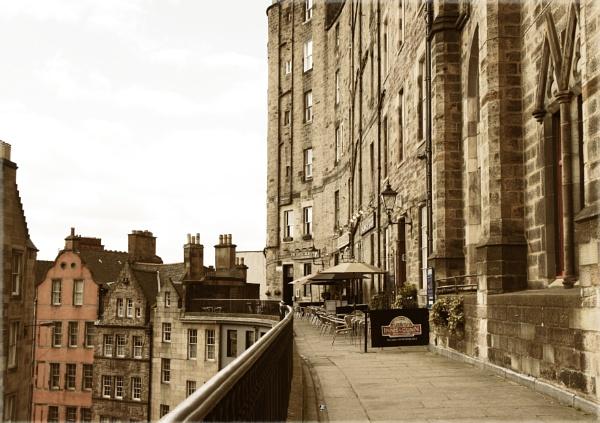 Victoria Terrace Edinburgh by betttynoir