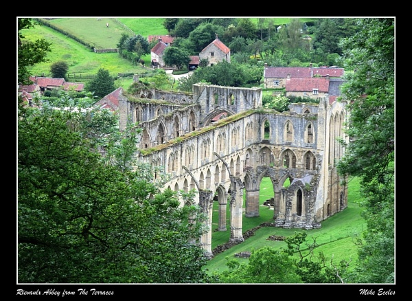 Rievaulx Abbey from The Terraces by oldgreyheron