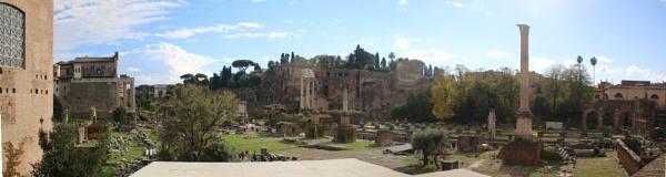 Roman Forum by lj090876