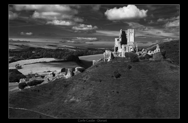 Corfe Castle - Dorset by Snapper_T