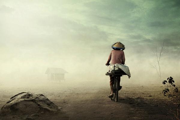 Tak Letih Mengayuh by ipoenkgraphic