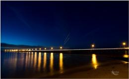Ryde pier at night