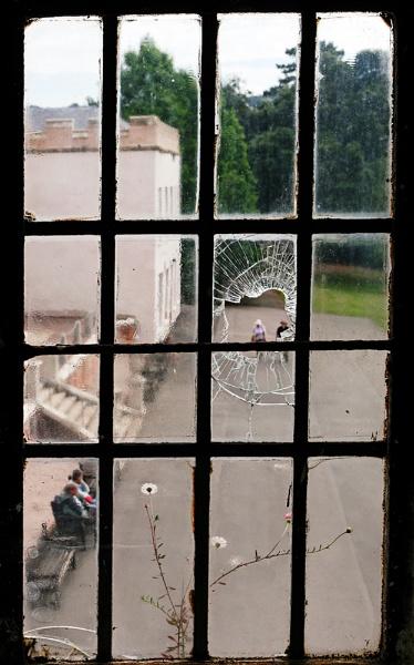 Broken window. by franken