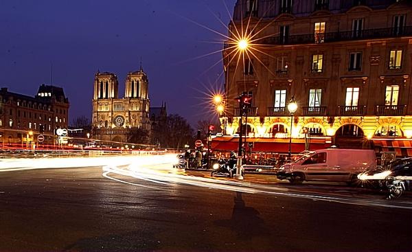 Paris TrafficTrails by eyewhy