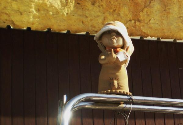 Boat mascot by Chinga