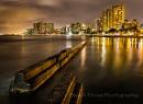 Waikiki Break Wall by david1810