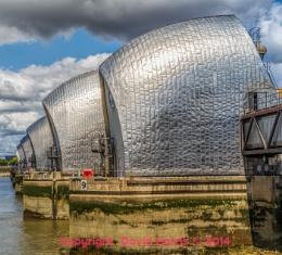 The Thames Barrier Charlton London by David Harris