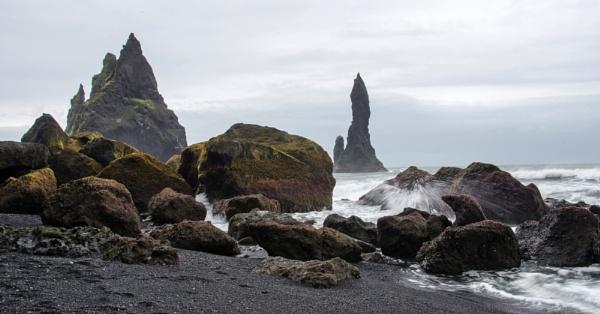 Coastal Rocks, Vik, Iceland by flowerpower59