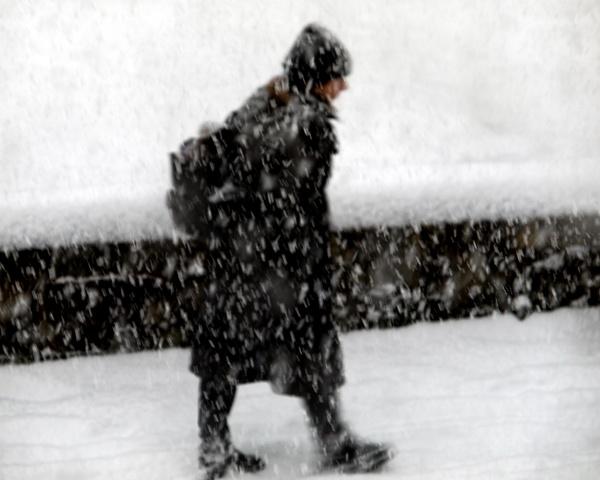 Snow walker by victorburnside