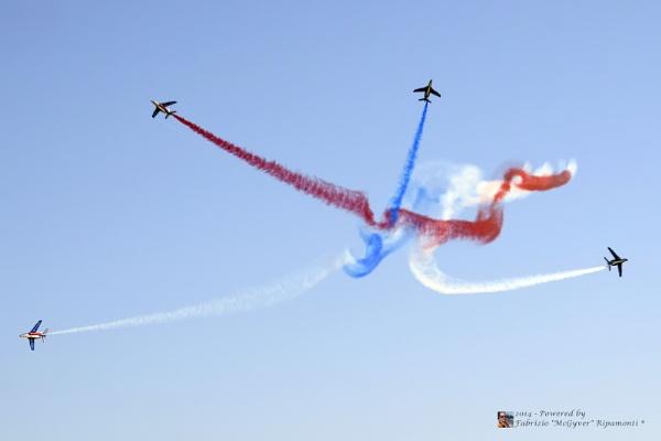 Patrouille de France @RIAS 2014 - Lido di Ostia by mcgyver79