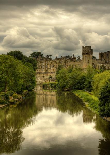 Warwick castle by Nobbythenobster2