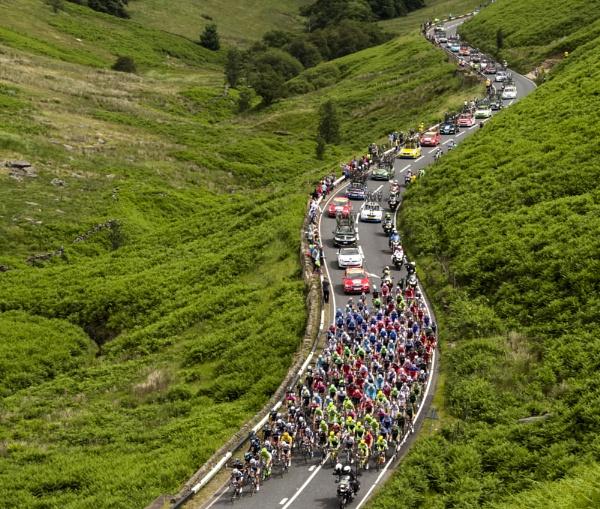 Tour de France Col de Blubberhouses, Yorkshire by gerainte1