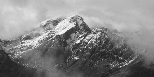 Skye: Bla Bheinn in cloud by liarsdance