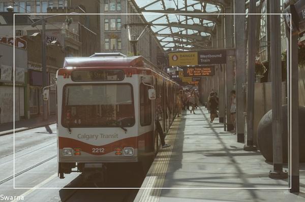Calgary Transit ... by Swarnadip