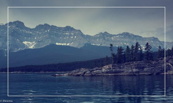 Lake Minnewanka - Banff, Alberta by Swarnadip
