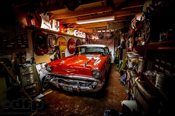Chevy 57 in hibernation by fletchphoto