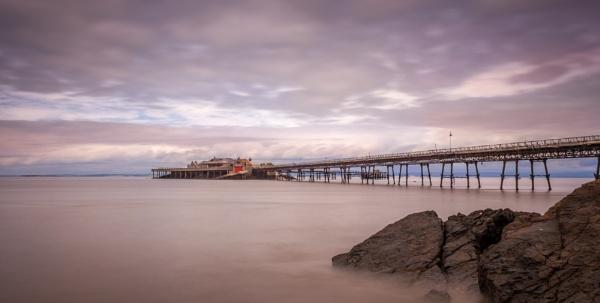 Kewstoke Pier by thefoolintherain