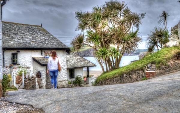 The Pilchard Inn, Burgh Island by LinBrennan