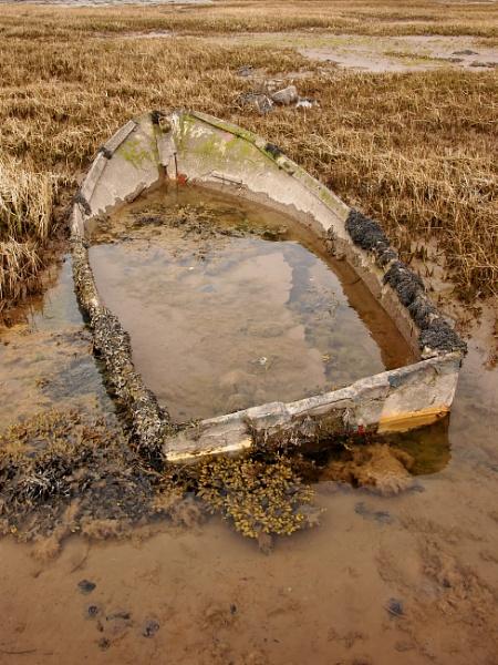 Sea reclaimed boat by steve51158