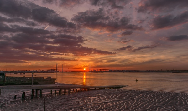 QEII BRIDGE by Stevefz