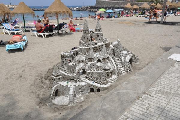 Sand Sculpture by kirkoid