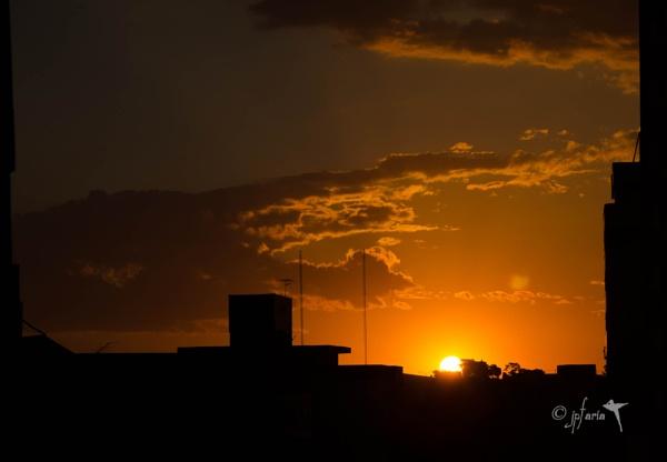 Winter Sunset by Zerstorer