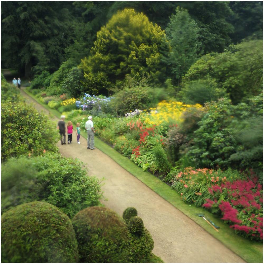 Rufford Old Hall Garden