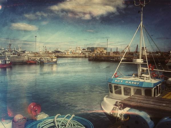 Fraserburgh Harbour, Aberdeenshire, Scotland by betttynoir
