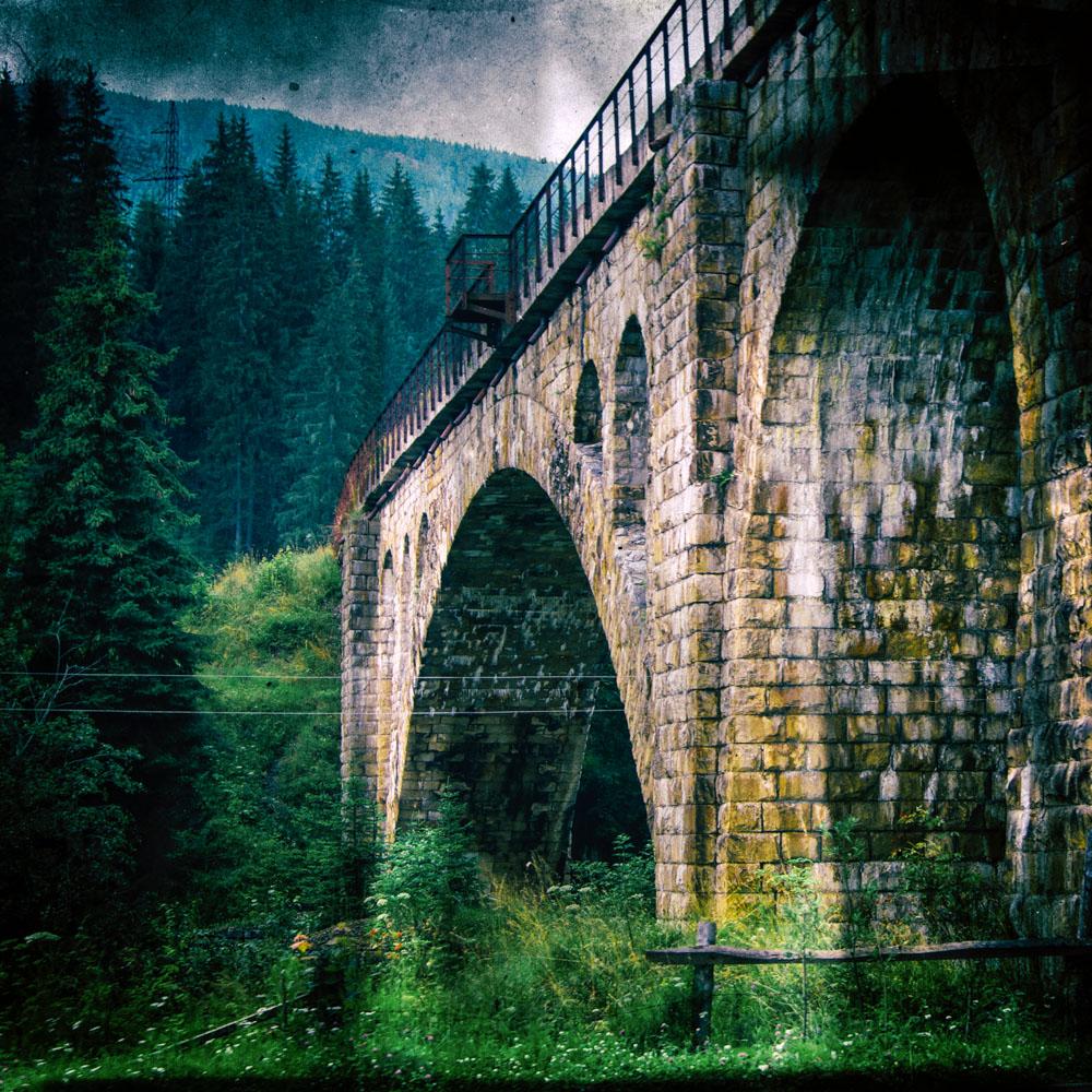...old bridge...