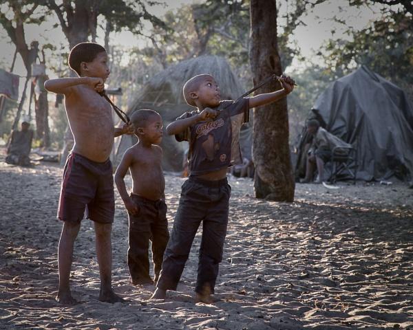 Three boys by AnnChown