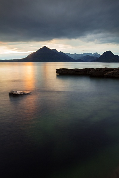 Cuillin sunset by carson-images