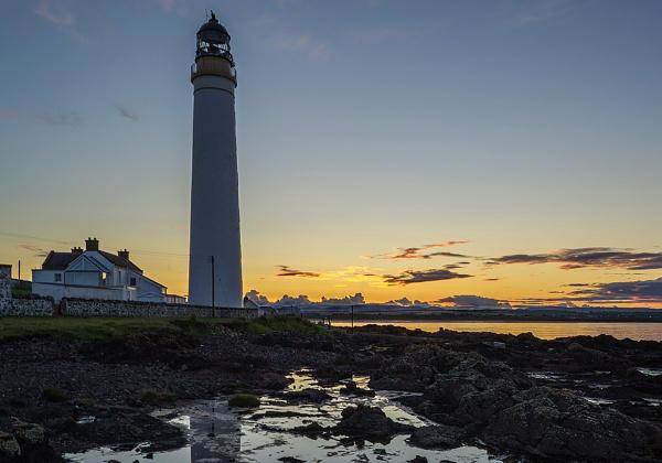 Scurdie Ness Lighthouse, Montrose 2 by billmyl