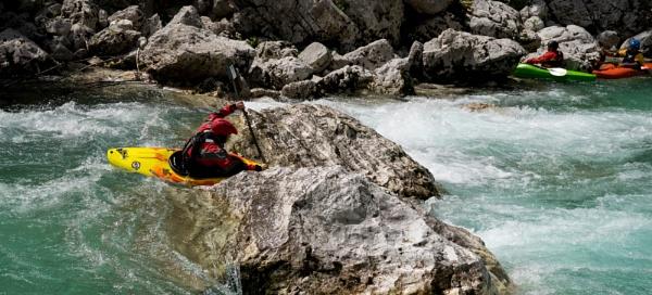 Rafting in Slovenia by ubaruch