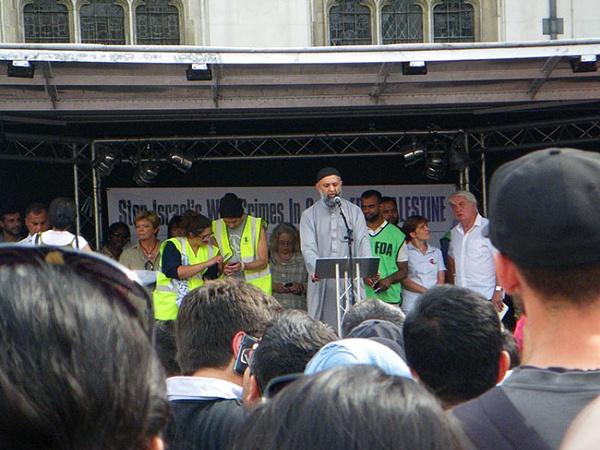 Ismail Patel on the Podium