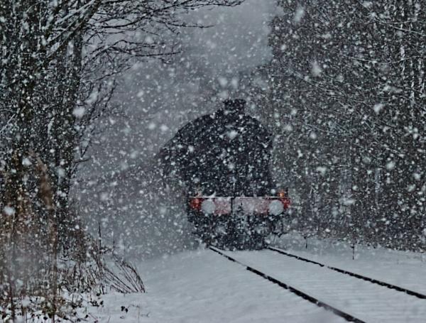 Snow Train by windypics