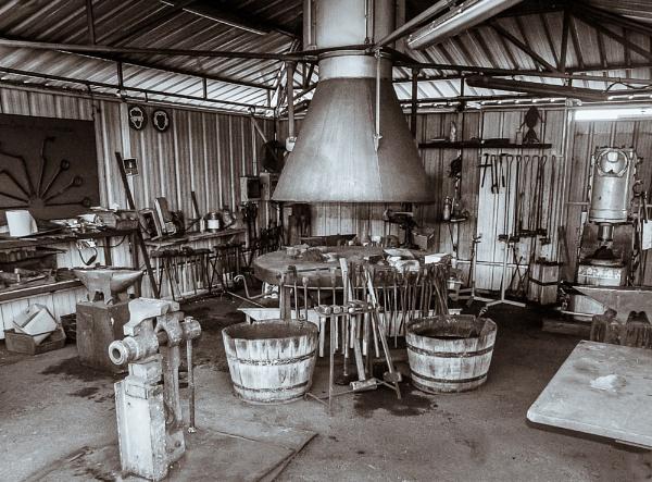 Blacksmiths shop by chavender