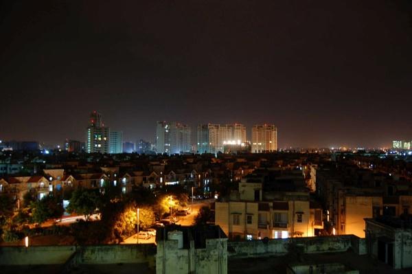 night view by manashi