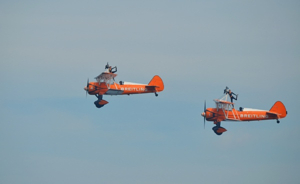 Breitling Wingwalkers by gingerdelight