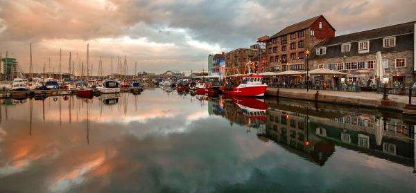 Plymouth Barbican, Devon, UK by andyfox