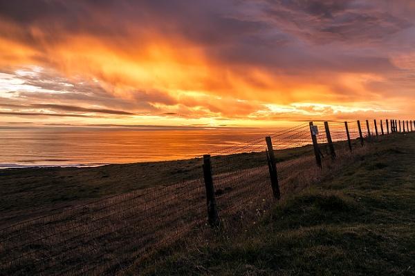 Fiery Sunset by guitarman74uk