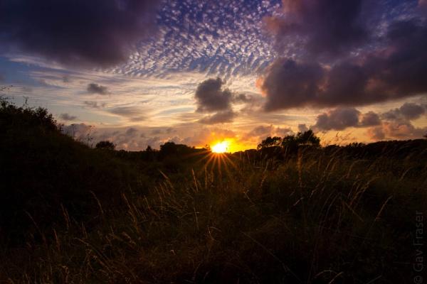 Summer sunset by GavF