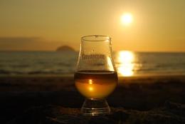 Tullamore Dew Whiskey Sunset
